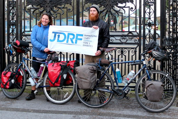 Cycling Around the World for JDRF: Diabetes Research