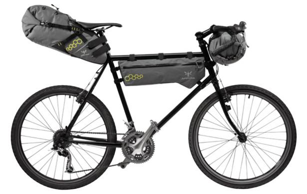 Apidura bikepacking bags
