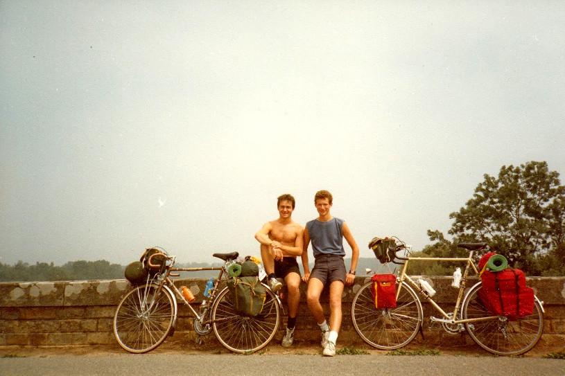 Charlie & Sam King - Cycling through Europe