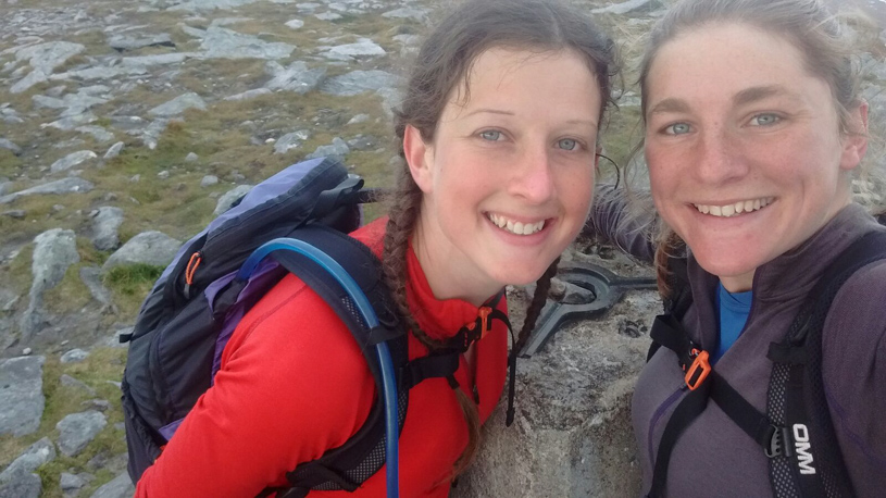 Running the Scottish Munros - Libby Kerr and Lisa Trollope