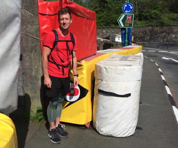 George Shelton - Running the Isle of Man TT route