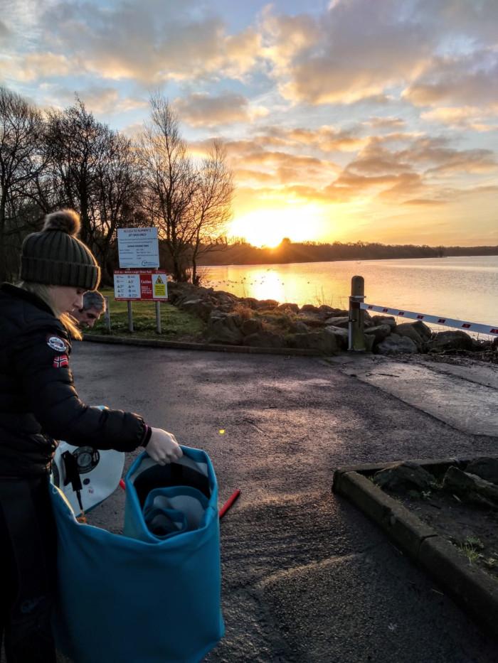 Joanne McCallum - SUP Lough Neagh - Day 3 Sunrise