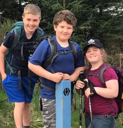 Charlie, Dominic & Penny - Cycling the Severn Way