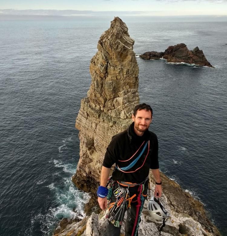 Steve Le Feuvre - Climbing Scottish sea stacks