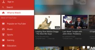 A screenshot of Apple TV's new app