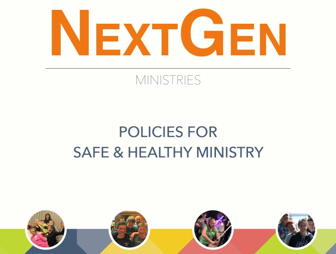 NextGen Policies for Safe & Healthy Ministry Cover