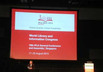 2013 IFLA Conference - opening session
