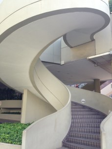 My favorite piece of architecture, the spiral staircase, and luckily Singapore had lots of them