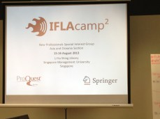 The second iteration of IFLA Camp for new professionals. Arrived 2 days before IFLA to attend