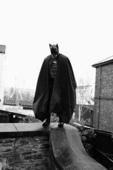 Facebook: https://www.facebook.com/damien.mcdevitt.5 What made cosplay so special for me in 2016 was seeing the smiles on kids faces. One of the events was a ghost tour as The Batman protecting kids and their parents, stayed in full character and had the odd impromptu sidekick.