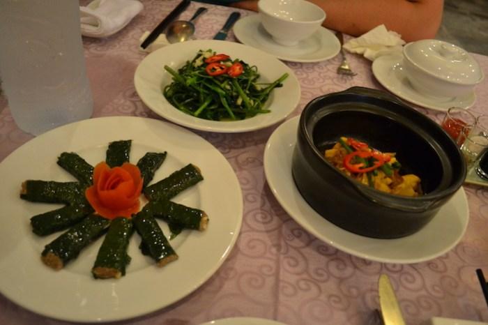 Comida en el restaurante Confetti (qué hacer en Hue)