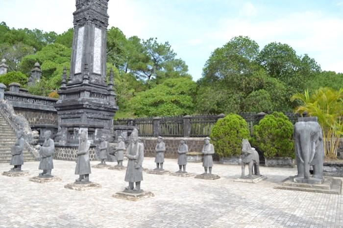 Exterior de la tumba del emperador Khai Dinh (qué hacer en Hue)