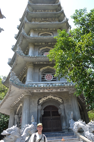 Torre Xa Loi en la pagoda Linh Ung (Viaje a Hoi An en coche con chófer)