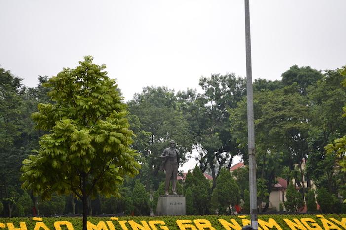 Parque Lenin en Hanoi