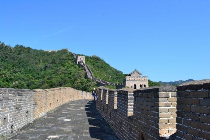 Parte de la Muralla China de Mutianyu