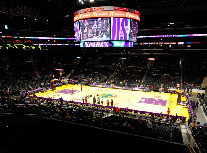 santa Mónica y Staples Center