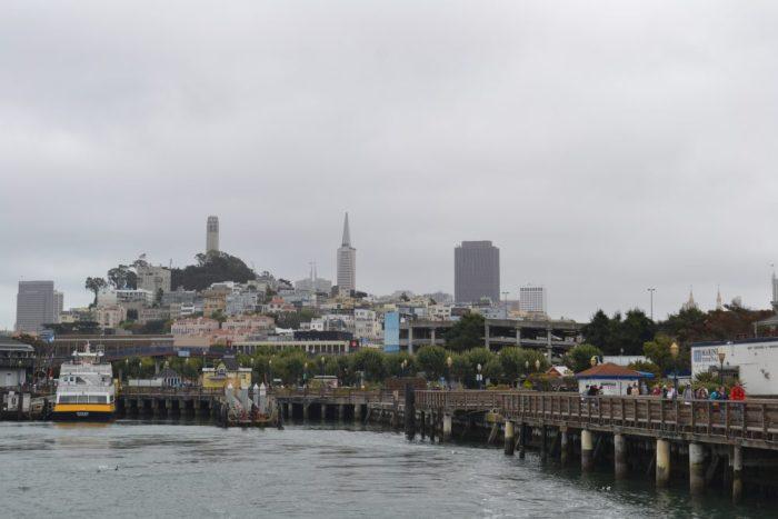 Ruta en coche por San Francisco