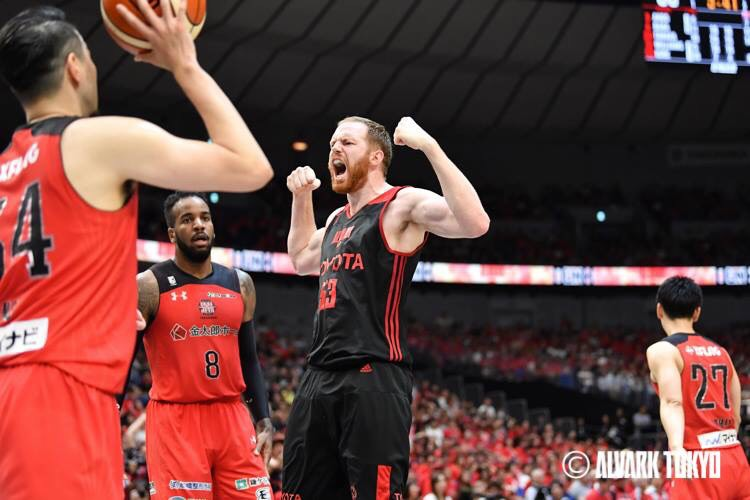 Former New Mexico Lobos center Alex Kirk is having success in Japan