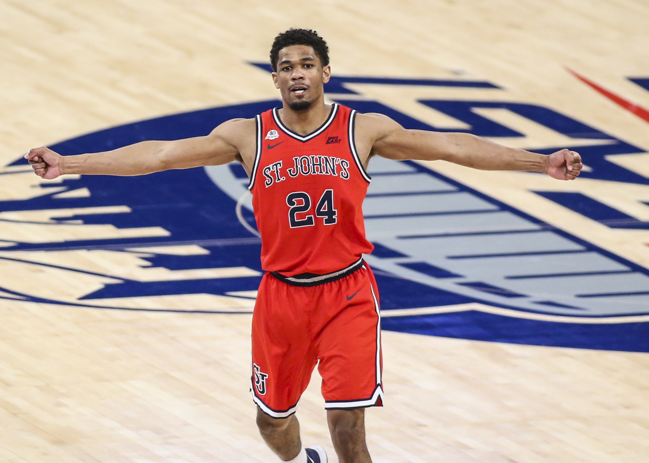 St. John's Nick Rutherford took full advantage of his graduate transfer opportunity