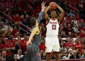 NC State's C.J. Bryce hopes to hear his name called in the NBA Draft
