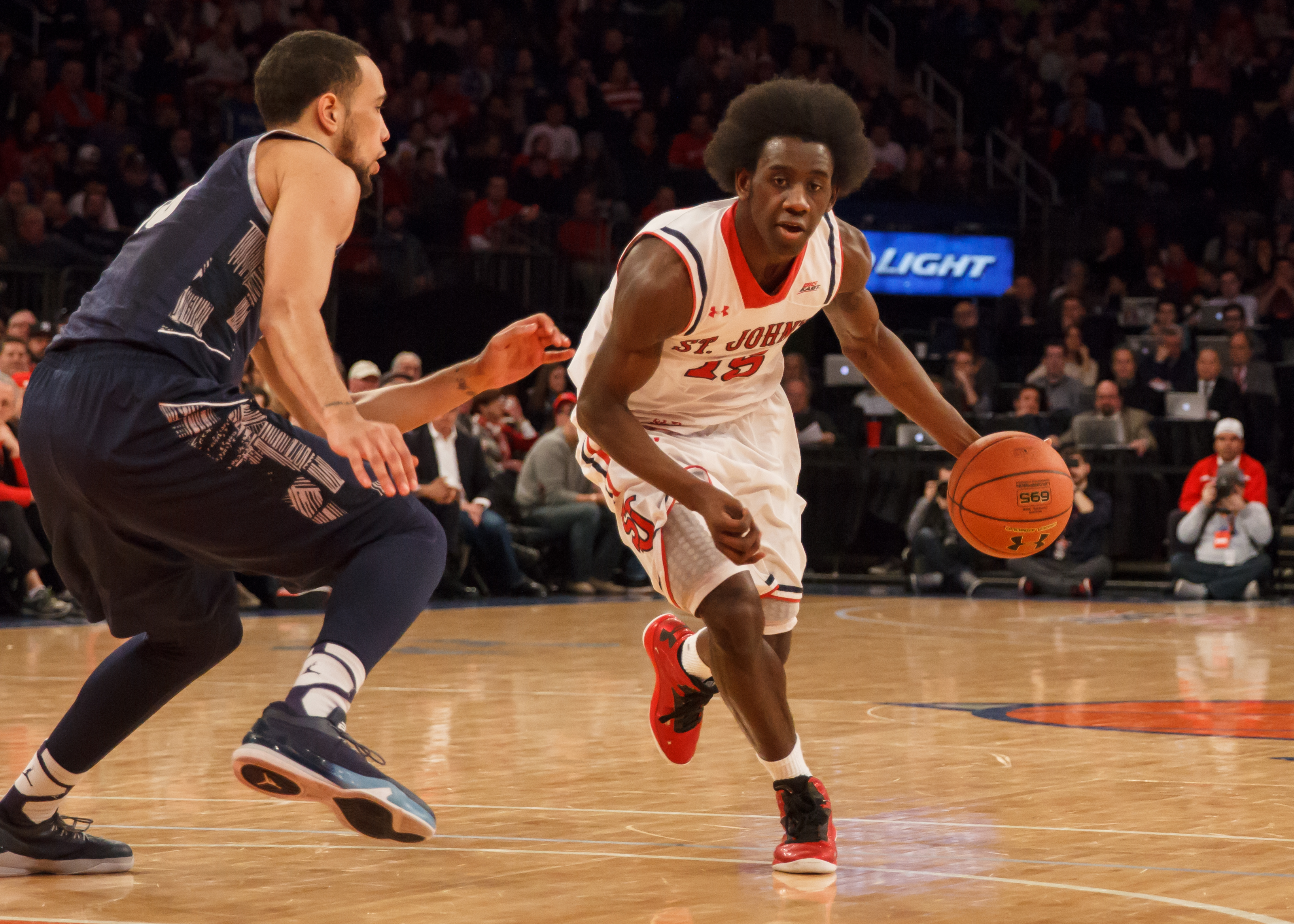 Read more about the article Sir'Dominic Pointer discusses his career at St. John's and with the Canton Charge
