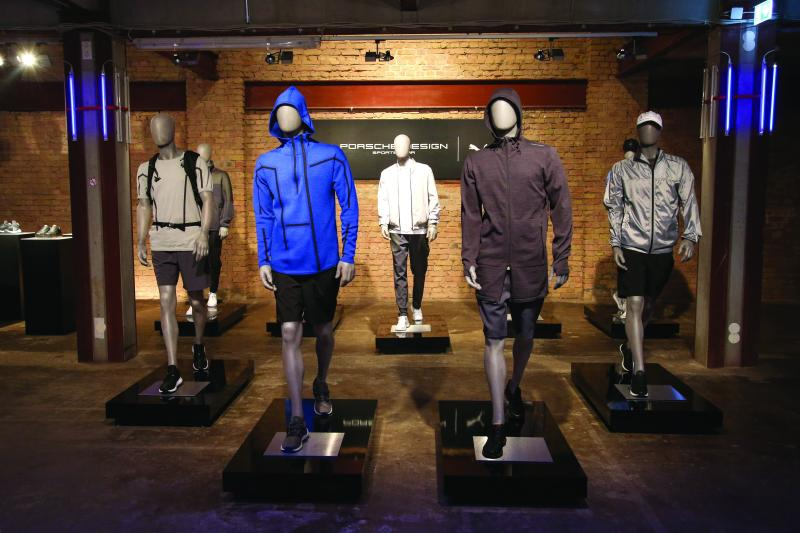Porsche Design And PUMA New Sportswear Launch In Berlin