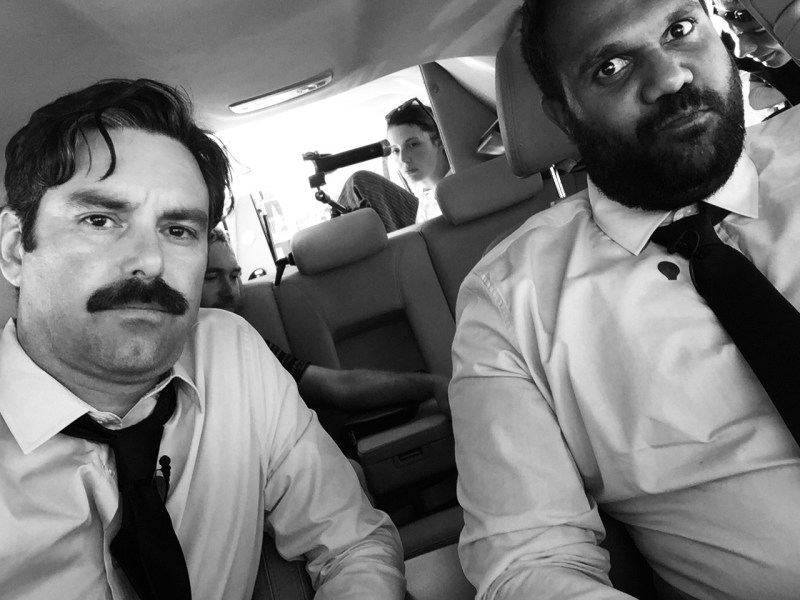 photo 8 barry_behind_the_scenes_hearse