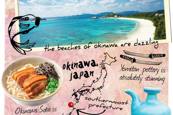 Whereabouts Okinawa Japan
