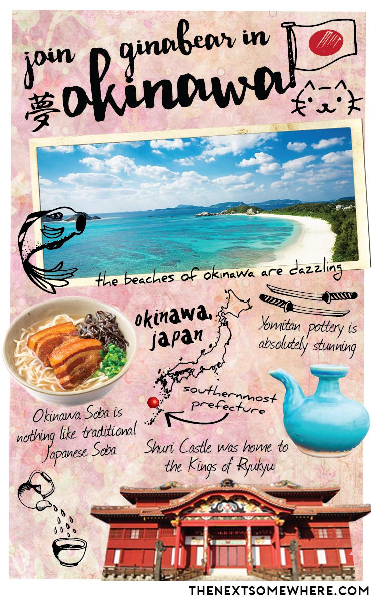 Whereabouts Okinawa Japan