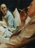 Smoking with Lulu with Thelma Barlow and Peter Eyre at West Yorkshire Playhouse