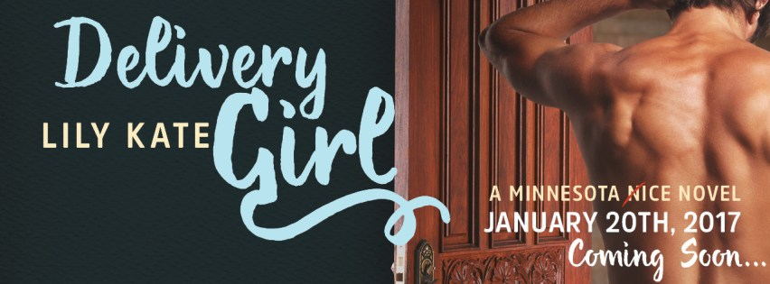 {Cover Reveal} Delivery Girl by @LilyKate