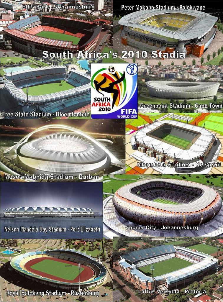 South Africa World Cup 2010 Stadiums The Next Up