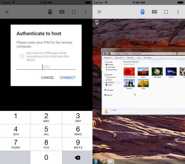 Chrome Remote Desktop Allows Access To Pc From Iphone