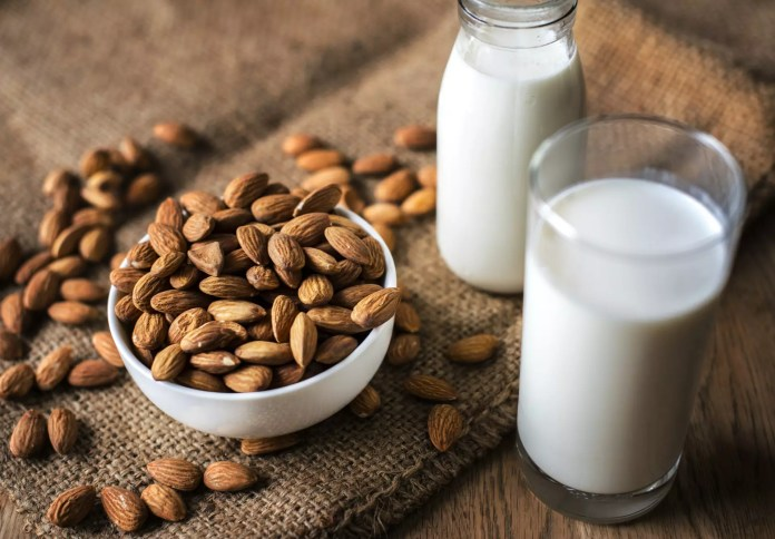 Almond milk and soy milk can keep you healthy