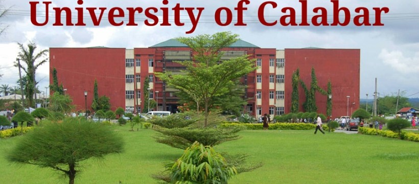 UNIVERSITY OF CALABAR FOR THE 2020/2021 SESSION