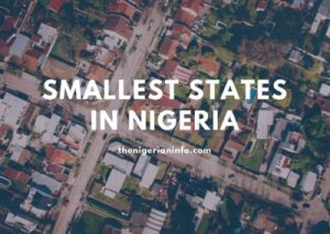 smallest states in Nigeria - Image