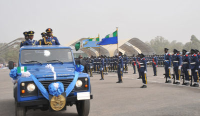 Nigerian Air Force salary structure