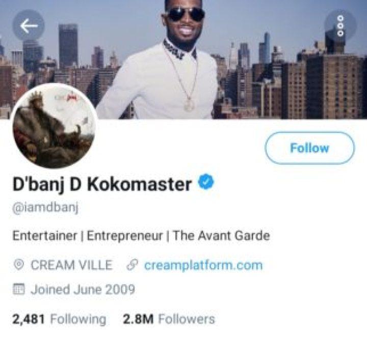 dbanj-twitter-followers