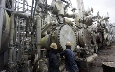 Warri Refinery - one of the Oil Refineries in Nigeria