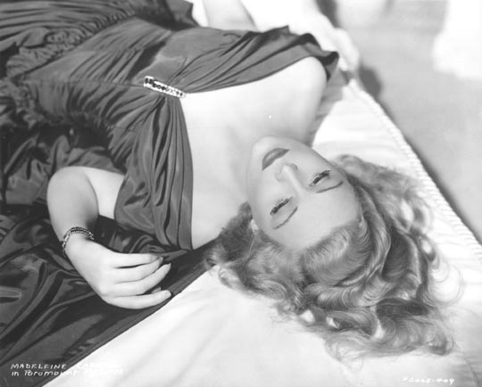 [The lovely Madeleine Carroll]