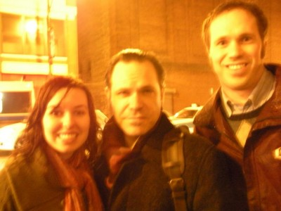 We were in a long line for the show, but got a picture with Kurt Elling.