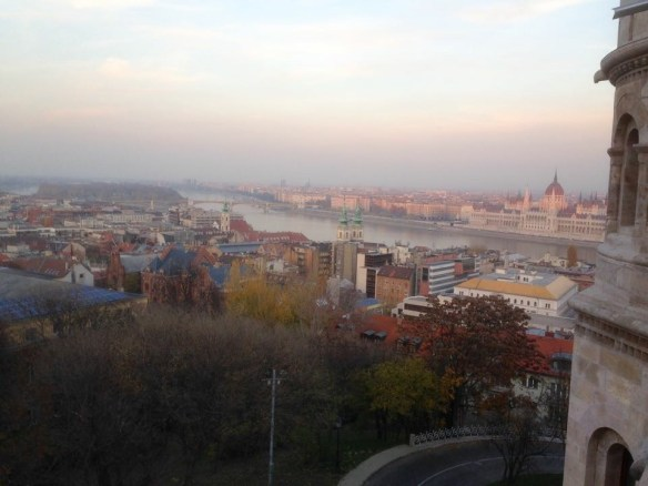 Another panoramic view, this one from one of the walls of Buda Palace.