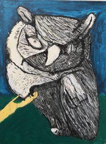 Barn Owl by Bruce Bazinet