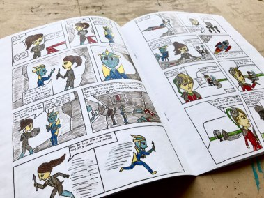 The Khulidian comic by Laura Traverse