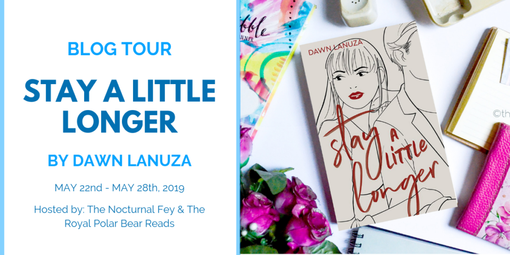Stay A Little Longer by Dawn Lanuza | Book Review by The Nocturnal Fey