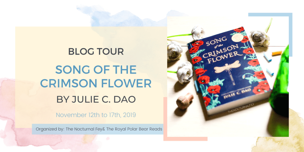 Song of the crimson flower by Julie C. Dao | The Nocturnal Fey