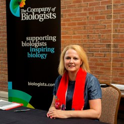 Nicky Le Blond, The Company of Biologists' Meeting Organiser