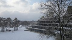 UE covered in snow