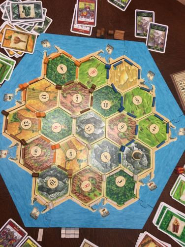 Wouldn't be a trip to the Campbell's without Settlers!