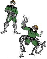 costume redesign for Dr. Octopus